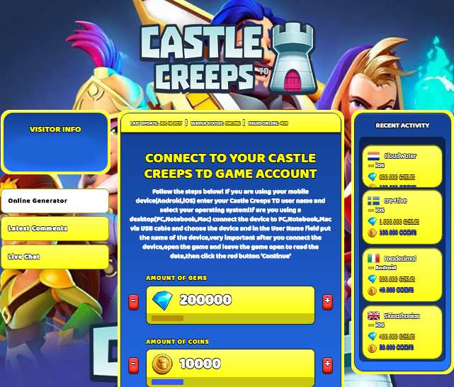 Castle Creeps TD Cheat, Castle Creeps TD Cheat online, Castle Creeps TD Cheat apk, Castle Creeps TD apk mod, Castle Creeps TD mod online, Castle Creeps TD generator, Castle Creeps TD cheats codes, Castle Creeps TD cheats, Castle Creeps TD unlimited Gems and Coins, Castle Creeps TD Cheat android, Castle Creeps TD cheat Gems and Coins, Castle Creeps TD tricks, Castle Creeps TD cheat unlimited Gems and Coins, Castle Creeps TD online generator, Castle Creeps TD free Gems and Coins, Castle Creeps TD tips, Castle Creeps TD apk mod, Castle Creeps TD hack, Castle Creeps TD hack online, Castle Creeps TD hack apk, Castle Creeps TD android hack, Castle Creeps TD apk cheats, mod Castle Creeps TD, Cheat Castle Creeps TD, cheats Castle Creeps TD, Castle Creeps TD generator online, Castle Creeps TD Hack iPhone, Castle Creeps TD cheats iOS, Castle Creeps TD Triche, Castle Creeps TD astuce, Castle Creeps TD Pirater, Castle Creeps TD jeu triche,Castle Creeps TD triche android, Castle Creeps TD tricher, Castle Creeps TD outil de triche,Castle Creeps TD gratuit Gems and Coins, Castle Creeps TD illimite Gems and Coins, Castle Creeps TD astuce android, Castle Creeps TD tricher jeu, Castle Creeps TD telecharger triche, Castle Creeps TD code de triche, Castle Creeps TD cheat online, Castle Creeps TD generator Gems and Coins, Castle Creeps TD cheat generator, Castle Creeps TD hacken, Castle Creeps TD beschummeln, Castle Creeps TD betr���gen, Castle Creeps TD betr���gen Gems and Coins, Castle Creeps TD unbegrenzt Gems and Coins, Castle Creeps TD Gems and Coins frei, Castle Creeps TD hacken Gems and Coins, Castle Creeps TD Gems and Coins gratuito, Castle Creeps TD mod Gems and Coins, Castle Creeps TD trucchi, Castle Creeps TD enga���ar
